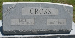 Rosebud Cleveland <I>McCord</I> Cross