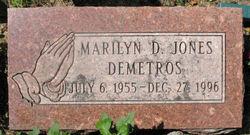 Marilyn D. <I>Jones</I> Demetros