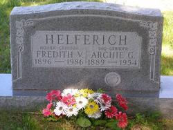 Fredith V <I>Wikle</I> Helferich