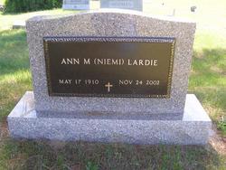 Ann M. <I>Niemi</I> Lardie