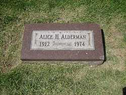 Alice H. Alderman