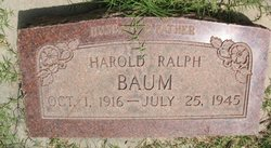 Harold Ralph Baum