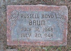 Russell Boyd Baum