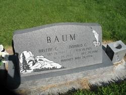 Arlene <I>Gregerson</I> Baum