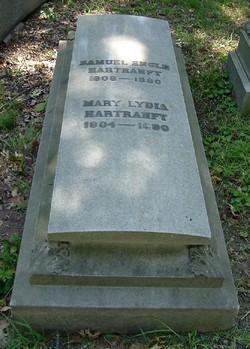 Mary Lydia <I>Bucher</I> Hartranft