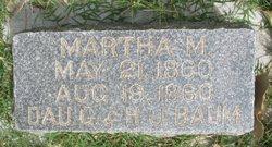 Martha M. Baum
