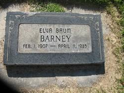 Elva <I>Baum</I> Barney