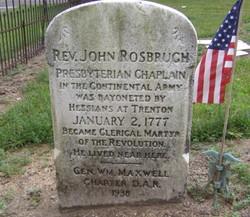 Rev John Rosbrugh