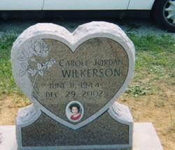 Carole Ann Jordan Wilkerson (1944-2002) - Find A Grave Memorial
