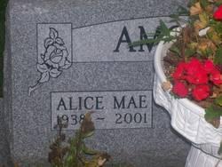 Alice Mae <I>McGinnett</I> Amoroso