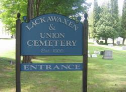 Lackawaxen and Union Cemetery