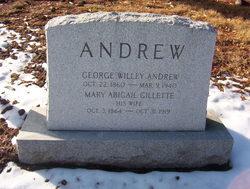 Mary Abigail <I>Gillette</I> Andrew