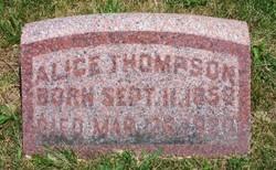 Alice <I>Yancey</I> Thompson