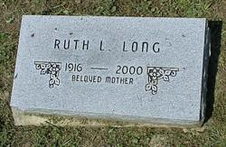 Ruth Louise <I>Boone</I> Long