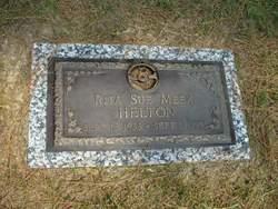 Rita Sue <I>Meek</I> Helton