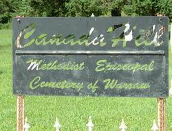 Canada Hill Methodist Episcopal Cemetery