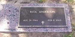Rita <I>Spangler</I> Anderson