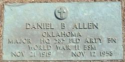 Maj Daniel Bacon Allen