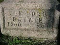 Clifford Balwin