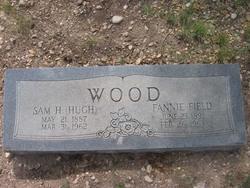 "Emma Frances ""Fannie"" <I>Field</I> Wood"