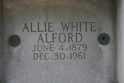 Allie White Alford