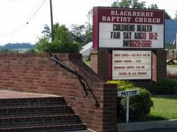 Blackberry Baptist Church Cemetery