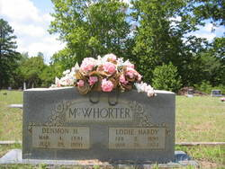 """Lydia Lara """"Lodie"""" <I>Hardy</I> McWhorter"""