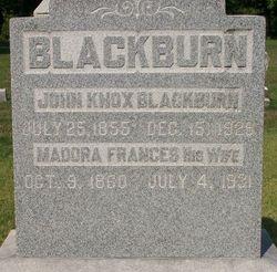 Madora Francis <I>Barnett</I> Blackburn
