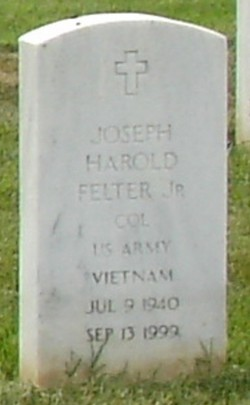 Joseph H Felter, Jr