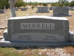 Hazel <I>Bennett</I> Merrell