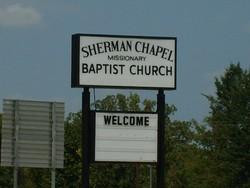 Sherman Chapel Baptist Church Cemetery