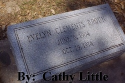 Evelyn Clements  Broun