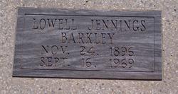 Lowell Jennings Barkley