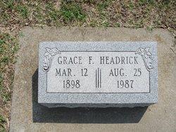 Grace F. Headrick