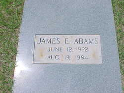 James Edward Adams