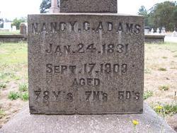 Nancy Caroline <I>Cox</I> Adams