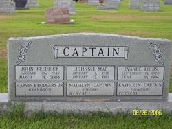 Br John Fredrick Captain