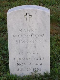 Barry Woodrow Simmons