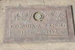 Georgia Anna <I>Black</I> Arnold
