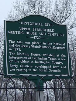 Upper Springfield Friends Burying Ground