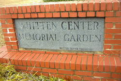 Whitten Center Memorial Gardens
