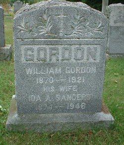 Ida Adeline <I>Sanders</I> Gordon