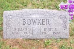 Ruby C. <I>Owens</I> Bowker