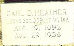 Sgt Carl Heather