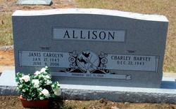 Janis Carolyn <I>Gant</I> Allison