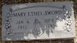 Mary Ethel <I>Roy</I> Sword