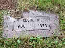 Leone M <I>Fairbanks</I> Burrell