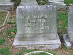 "William McDill ""Willie"" Simonton"