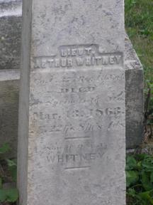 Lieut Arthur Whitney