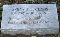 Anna E. <I>Cutler</I> Davis
